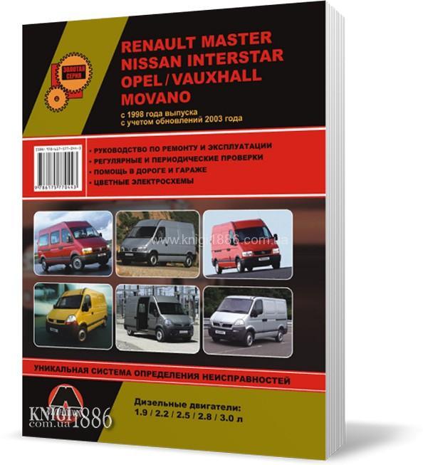 Руководство + По Ремонту Renault Master
