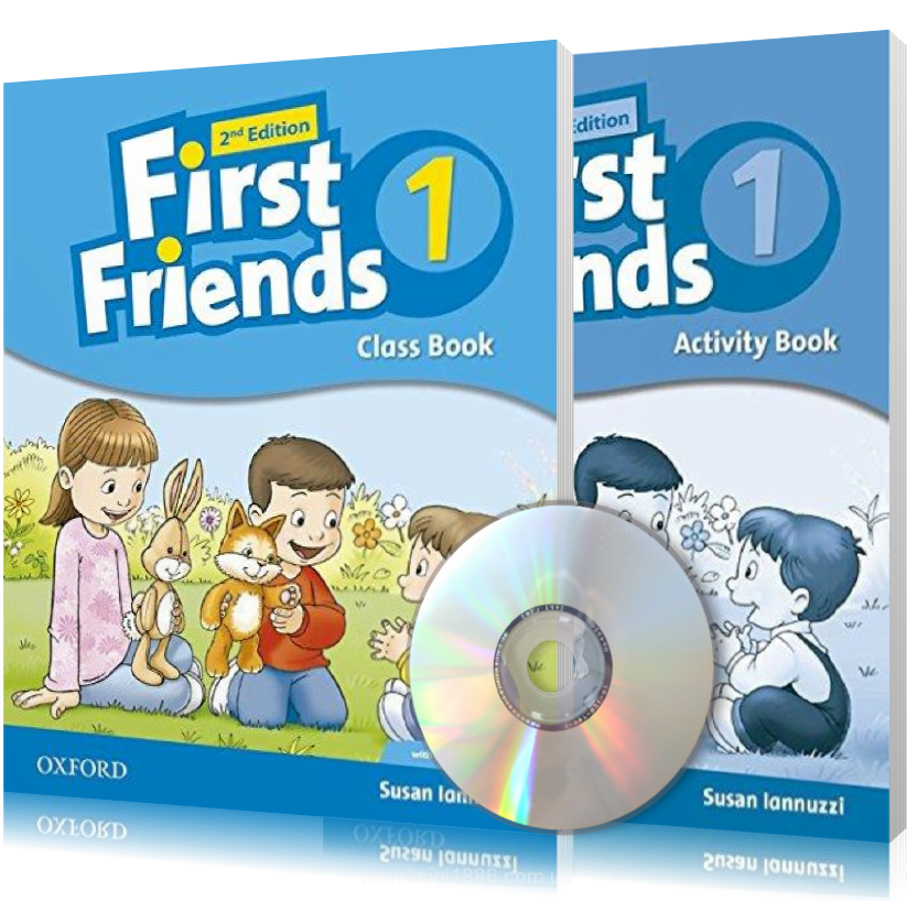First Friends 2th edition 1, Class book + Actitvity book