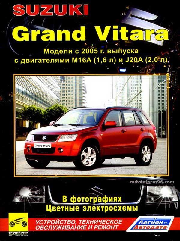 руководство по эксплуатации сузуки гранд витара 2008 дизель