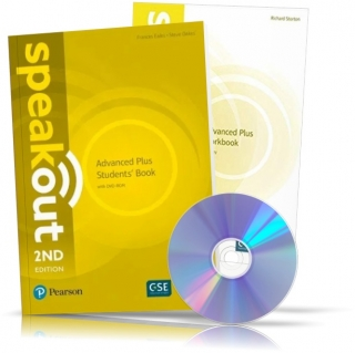 Speakout 2nd Advanced Plus, Student's book + Workbook + DVD / Учебник + Тетрадь английского языка