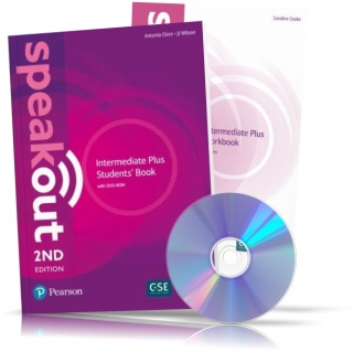 Speakout 2nd Intermediate Plus, Student's book + Workbook + DVD / Учебник + Тетрадь английского языка