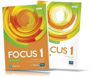 Focus 2nd edition 1, Student's book + Workbook / Учебник + Тетрадь английского языка