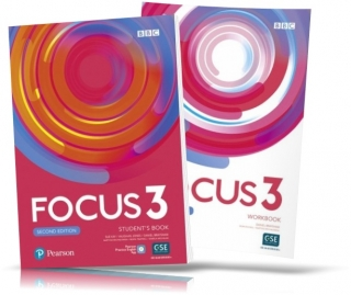 Focus 2nd edition 3, Student's book + Workbook / Учебник + Тетрадь английского языка