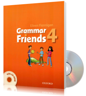 Учебник с диском Grammar Friends 4, Tim Ward | Oxford