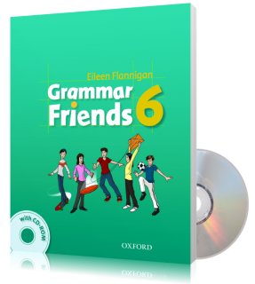 Учебник с диском Grammar Friends 6, Tim Ward | Oxford