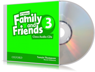 Аудио-диск Family and Friends 3 второе издание, Naomi Simmons | Oxford