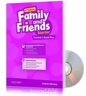 Книга для учителя Family and Friends Starter второе издание, Barbara Mackay | Oxford