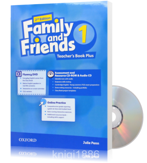 Книга для учителя Family and Friends 1 второе издание, Julie Penn | Oxford