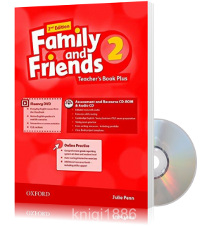 Книга для учителя Family and Friends 2 второе издание, Julie Penn | Oxford