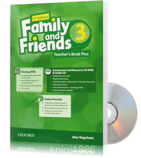 Книга для учителя Family and Friends 3 второе издание, Alex Raynham | Oxford