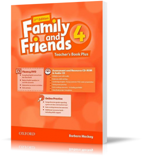 Книга для учителя Family and Friends 4 второе издание, Barbara Mackay | Oxford