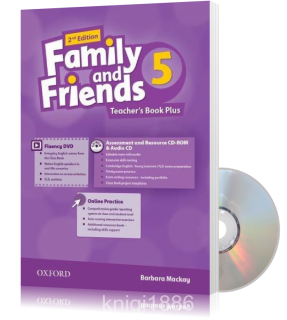 Книга для учителя Family and Friends 5 второе издание, Barbara Mackay | Oxford