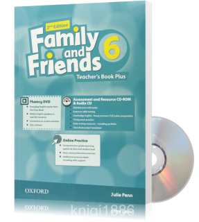 Книга для учителя Family and Friends 6 второе издание, Julie Penn | Oxford