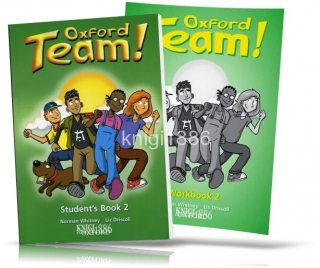 Oxford Team 2, Student's book + Workbook / Учебник+Тетрадь английского языка