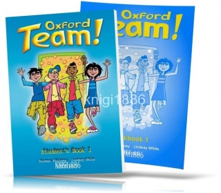Oxford Team 1, Student's book + Workbook / Учебник+Тетрадь английского языка