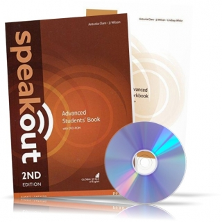 Speakout Advanced, Student's book + Workbook + DVD / Учебник + Тетрадь английского языка