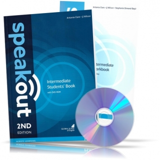 Speakout Intermediate, Student's book + Workbook + DVD / Учебник + Тетрадь английского языка