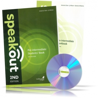 Speakout Pre-Intermediate, Student's book + Workbook + DVD / Учебник + Тетрадь английского языка