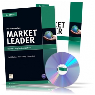 Market Leader Pre-Intermediate, CourseBook + Practice File + CD / Учебник + Тетрадь английского языка