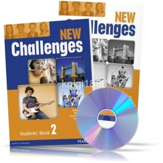 New Challenges 2, Student's book + Workbook / Учебник + Тетрадь английского языка