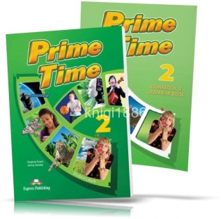 Prime Time 2, Student's book + Workbook / Учебник + Тетрадь английского языка