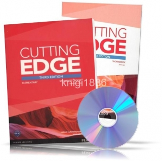 Cutting Edge Elementary, Student's+Workbook+DVD / Учебник+Тетрадь английского языка
