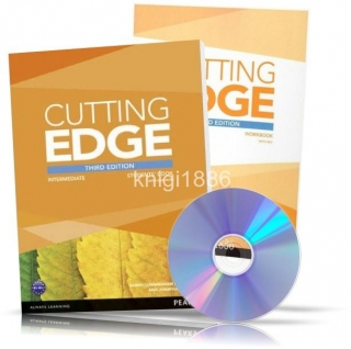 Cutting Edge Intermediate, Student's+Workbook+DVD / Учебник+Тетрадь английского языка