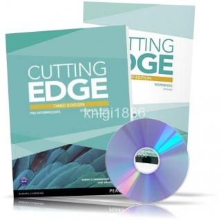 Cutting Edge Pre-Intermediate, Student's+Workbook+DVD / Учебник+Тетрадь английского языка