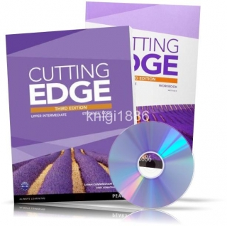 Cutting Edge Upper-Intermediate, Student's+Workbook+DVD / Учебник+Тетрадь английского языка