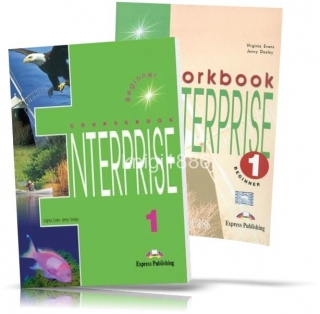 Enterprise 1 Beginner, Coursebook+Workbook / Учебник+Тетрадь английского языка