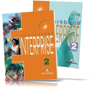 Enterprise 2 Elementary, Coursebook+Workbook / Учебник+Тетрадь английского языка