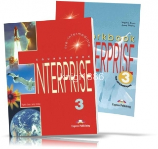Enterprise 3 Pre-Intermediate, Coursebook+Workbook / Учебник+Тетрадь английского языка