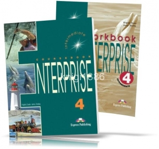 Enterprise 4 Intermediate, Coursebook+Workbook / Учебник+Тетрадь английского языка