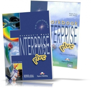 Enterprise Plus Pre-intermediate, Course+Workbook / Учебник+Тетрадь английского языка