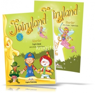Fairyland Starter, Pupil's book + Activity Book / Учебник + Тетрадь английского языка