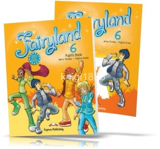 Fairyland 6, Pupil's book + Activity Book / Учебник + Тетрадь английского языка