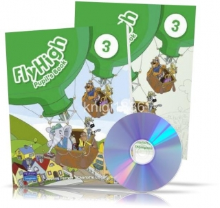 Fly High 3, Pupil's+Activity Book+CDs / Учебник+Тетрадь английского языка