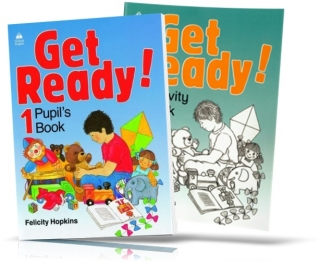 Get Ready! 1, Pupil's book + Activity Book / Учебник + Тетрадь английского языка