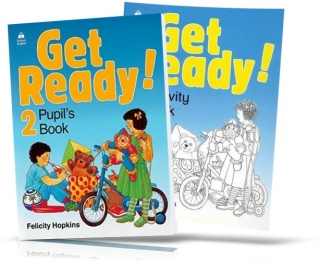 Get Ready! 2, Pupil's book + Activity Book / Учебник + Тетрадь английского языка