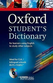 Словарь с диском Oxford Student's Dictionary Paperback, Alison Waters | OXFORD