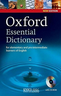 Словарь с диском Oxford Essential Dictionary, New Edition, Alison Waters | OXFORD