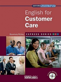 Учебник с диском Express Series English for Customer Care, Rosemary Richey | OXFORD