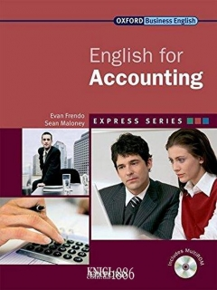 Учебник с диском Express Series English for Accounting, Sean Mahoney | OXFORD