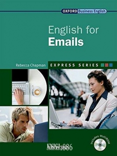 Учебник с диском Express Series English for Emails, Rebecca Chapman | OXFORD