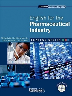 Учебник с диском Express Series English for the Pharmaceutical Industry, Michaela Buchler | OXFORD