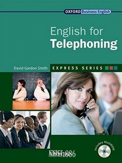 Учебник с диском Express Series English for Telephoning, David Gordon Smith | OXFORD