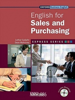 Учебник с диском Express Series English for Sales and Purchasing, Lothar Gutjahr | OXFORD