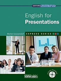 Учебник с диском Express Series English for Presentations, Marion Grussendorf | OXFORD