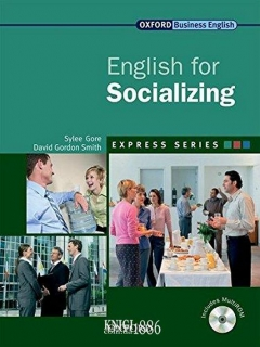 Учебник с диском Express Series English for Socializing, Sylee Gore | OXFORD