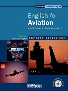 Учебник с диском Express Series English for Aviation, Sue Ellis | OXFORD